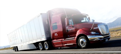 We provide reporting for truckers.